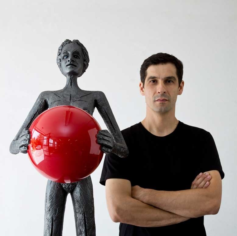 Pedro Figueiredo, sculptor at zet gallery