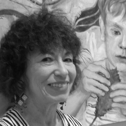 Connie Freid, painter at zet gallery