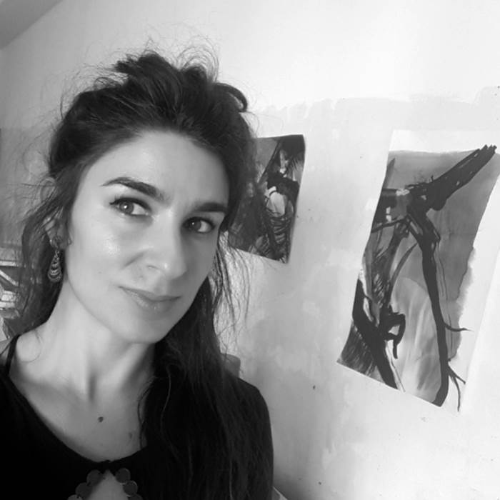 Filipa  Figueiredo, painter at zet gallery