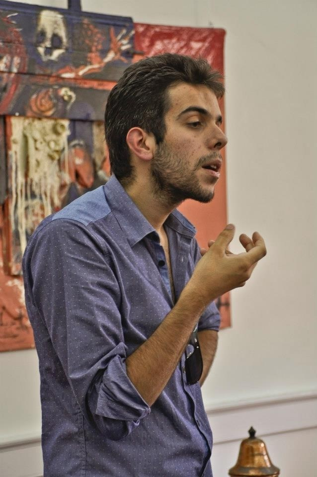 Diogo  Goes, sculptor at zet gallery