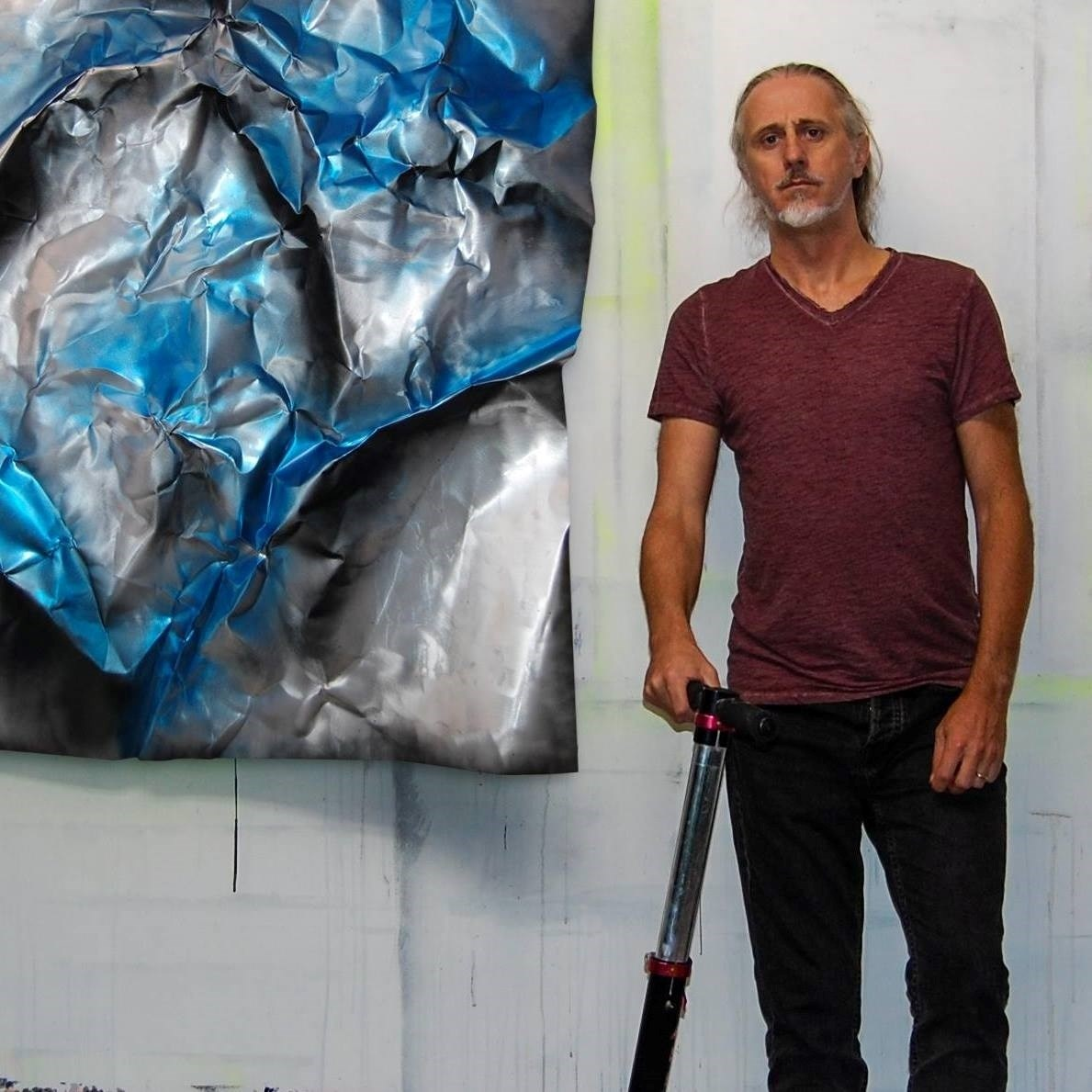 Paulo Canilhas, painter at zet gallery