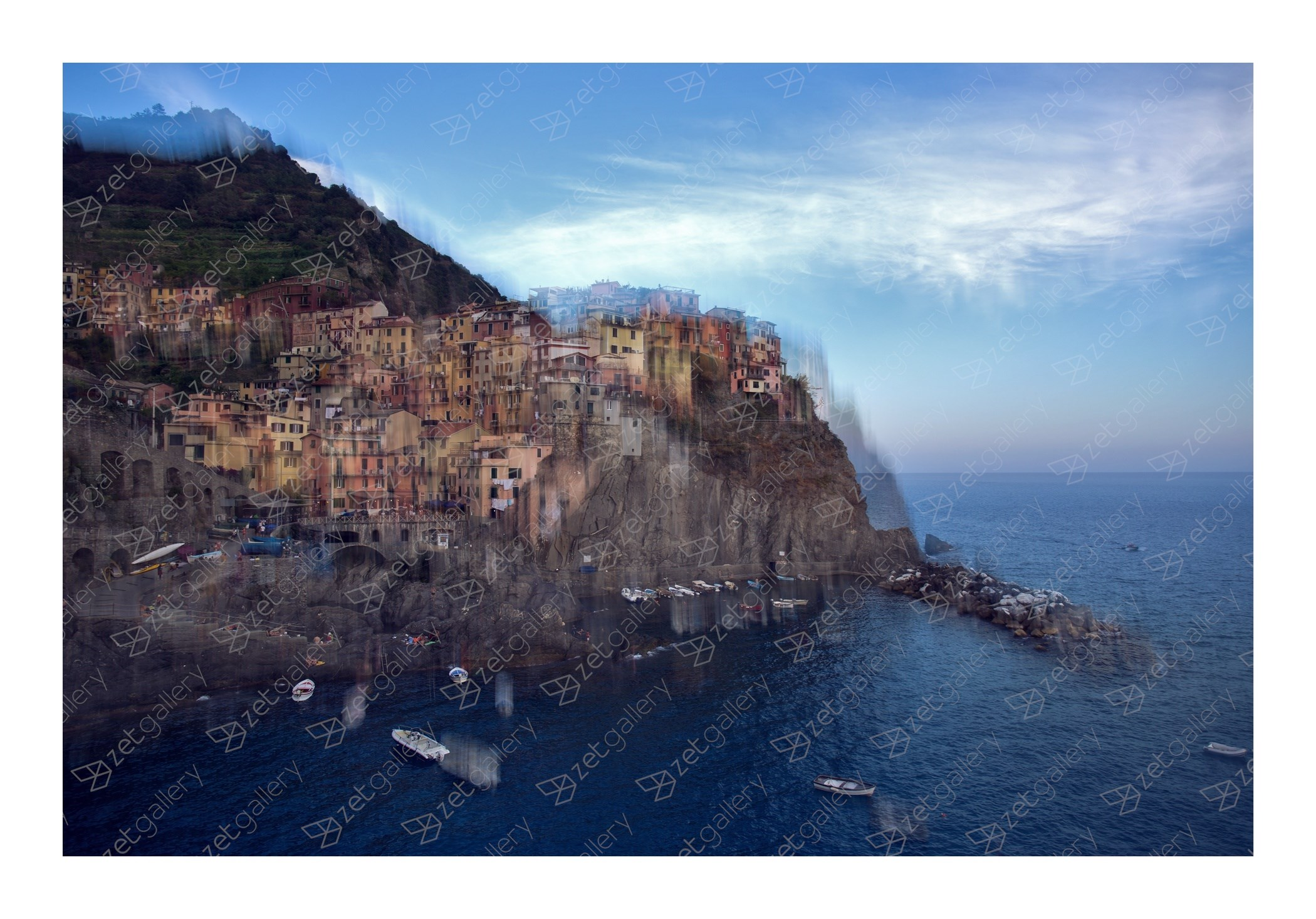 Manarola, original Landscape Digital Photography by Daniel Camacho