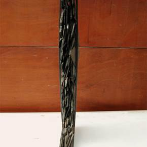 Ecótono 6.5, original Abstract Iron Sculpture by Ana Almeida Pinto