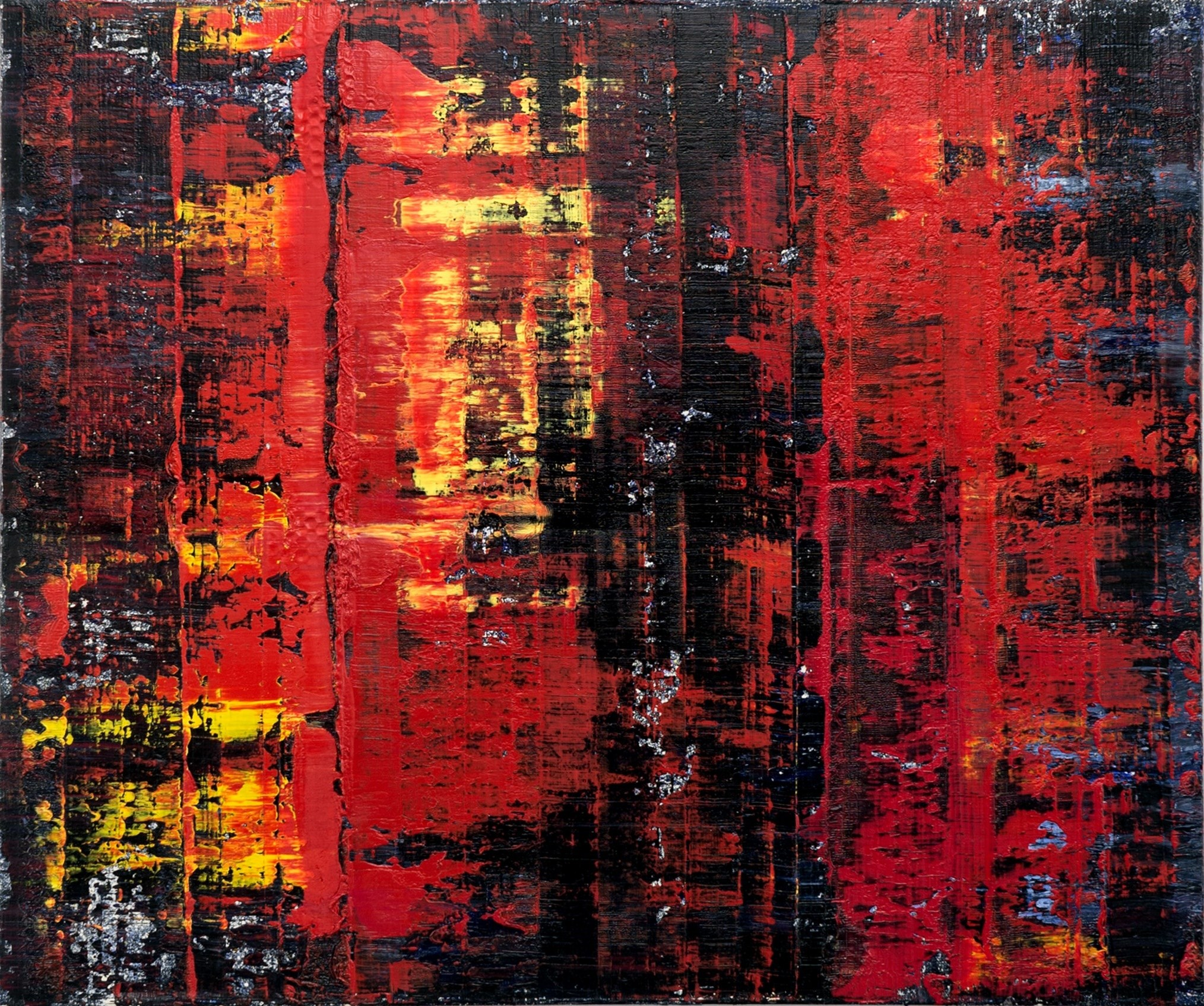 #3 (2014), original Abstract Oil Painting by Pedro Bom