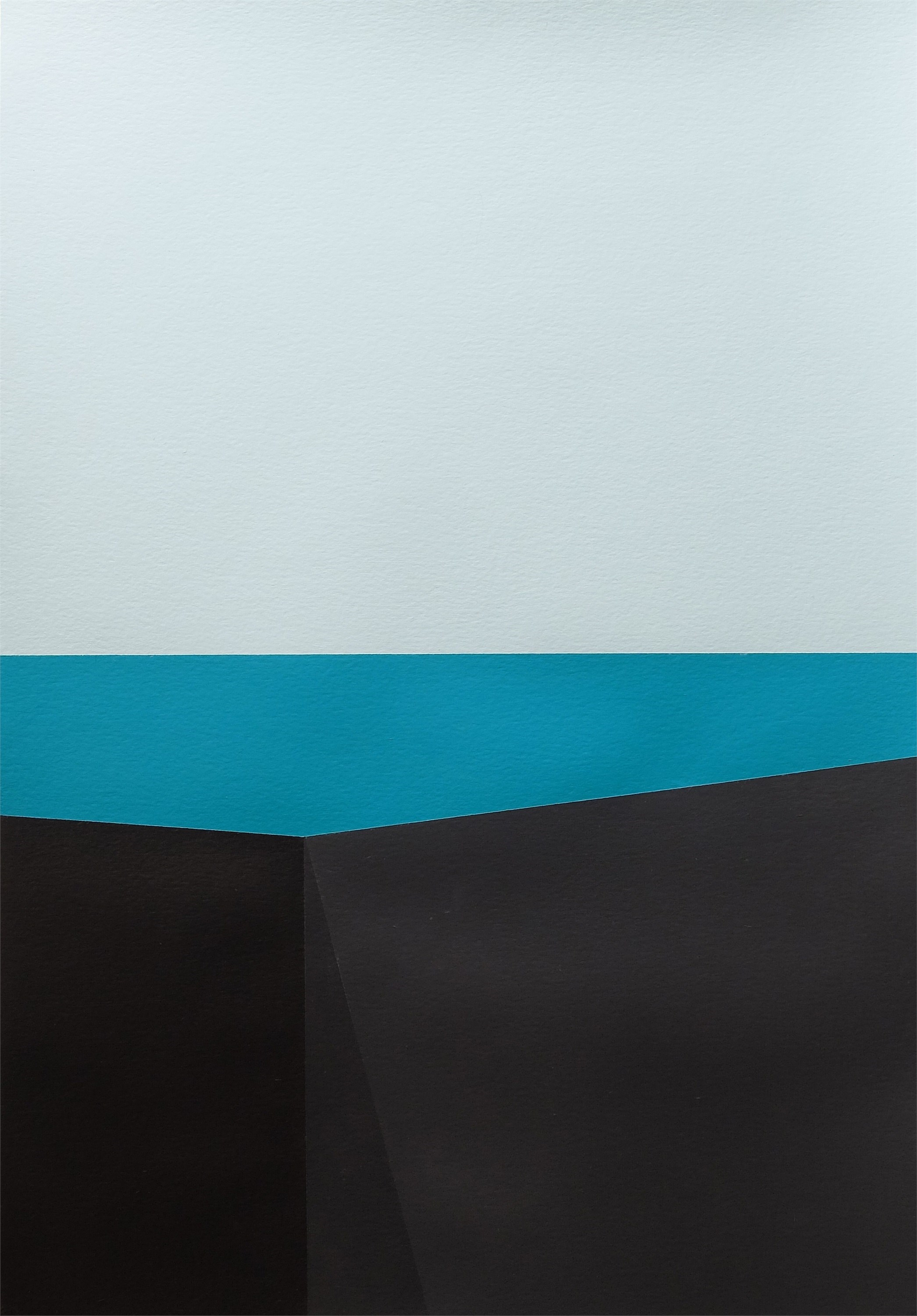 Minimal Landscapes Series · MLS P0355, original Abstract Acrylic Painting by André Lemos Pinto
