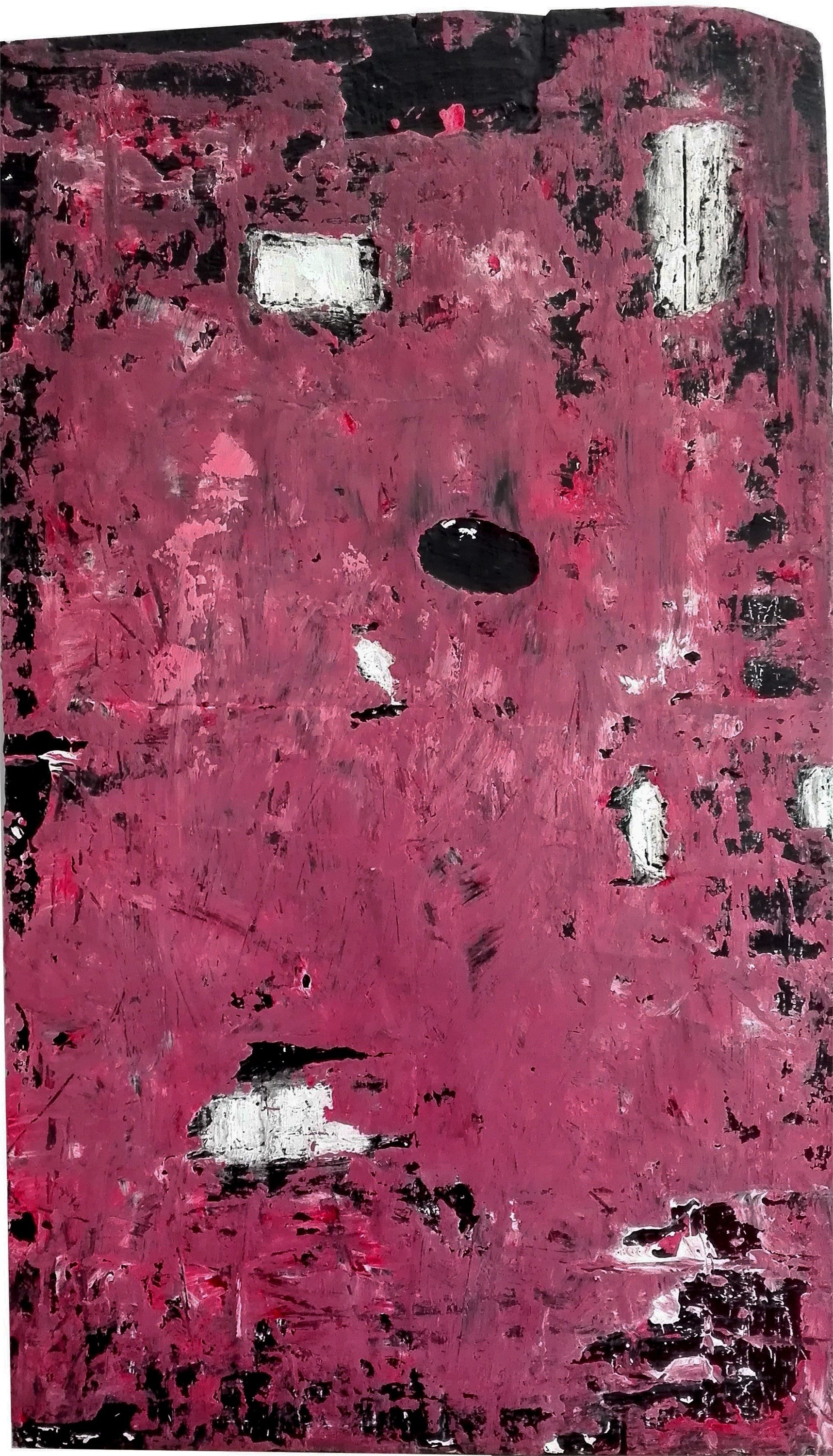 Teddy, original Abstract Acrylic Painting by Tiago Duarte