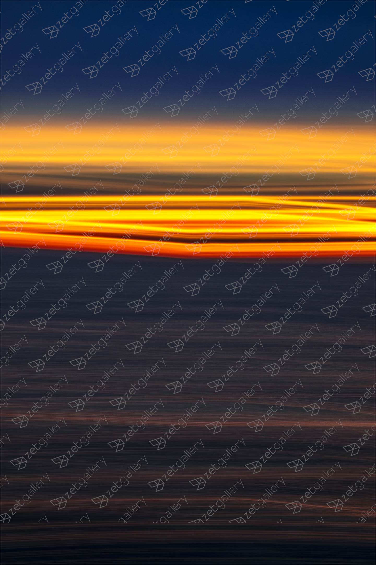 ABSTRACT SUNRISE II, Small Edition 1 of 15, original Abstract Digital Photography by Benjamin Lurie