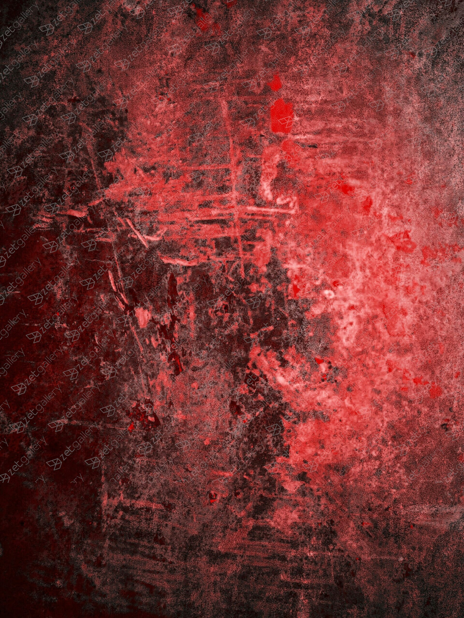red no.9, original Abstract Digital Photography by Magdalena Kaczmarczyk