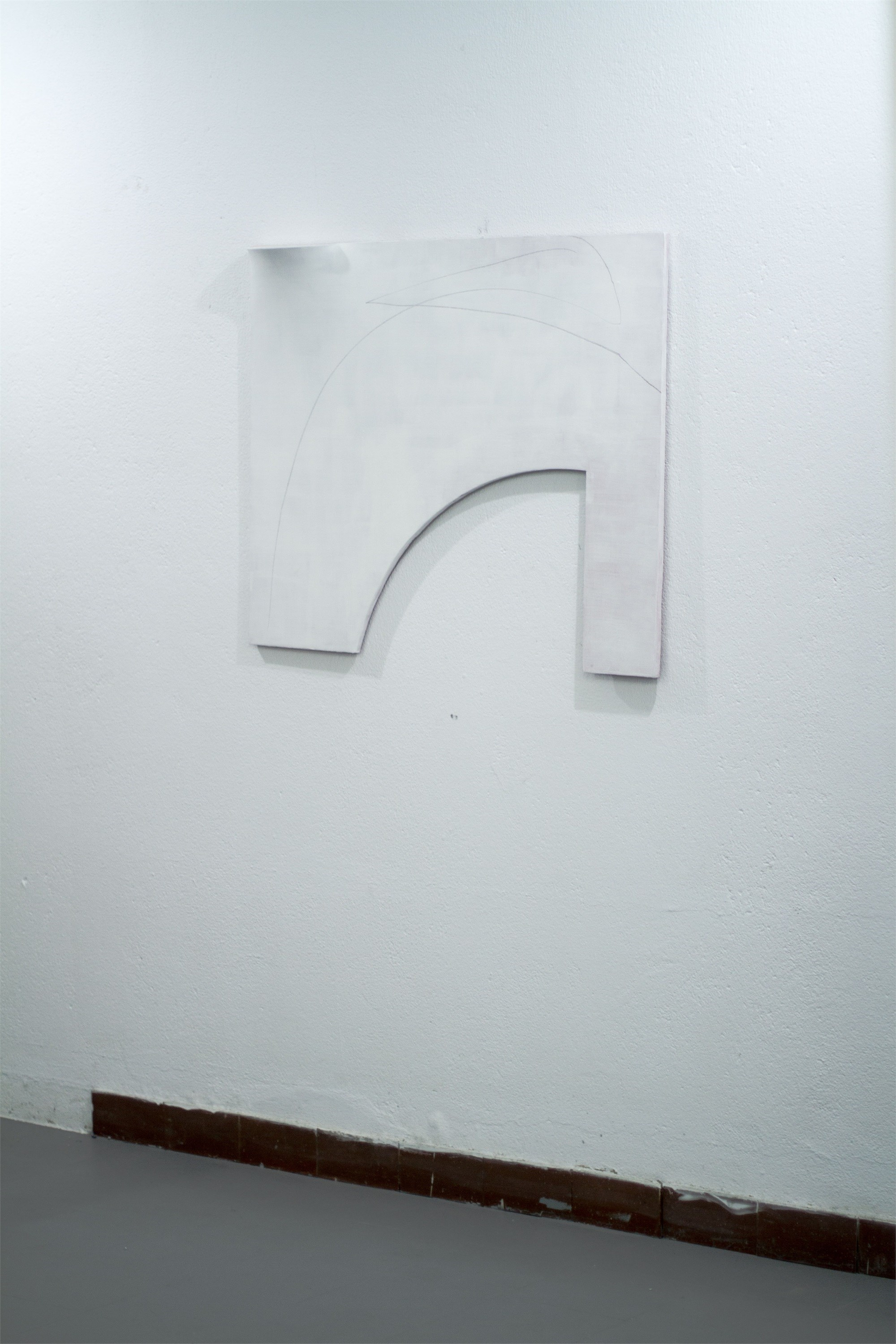 Argentinean Suite, original Abstract Plaster Sculpture by André Costa
