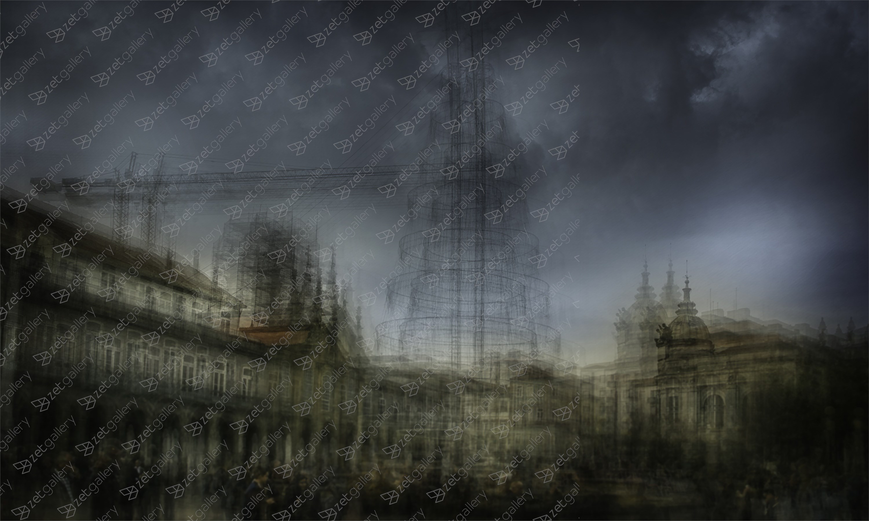 Layers #1, original Architecture Digital Photography by Ricardo BR
