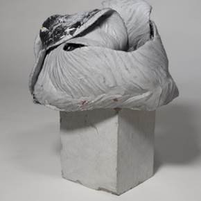 Lunes, original Abstract Aluminum Sculpture by Alberto Rodrigues Marques