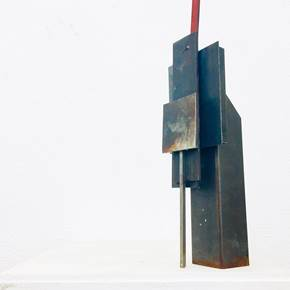 RUINS OF POSTMODERNITY, original Abstract Mixed Technique Sculpture by André Costa