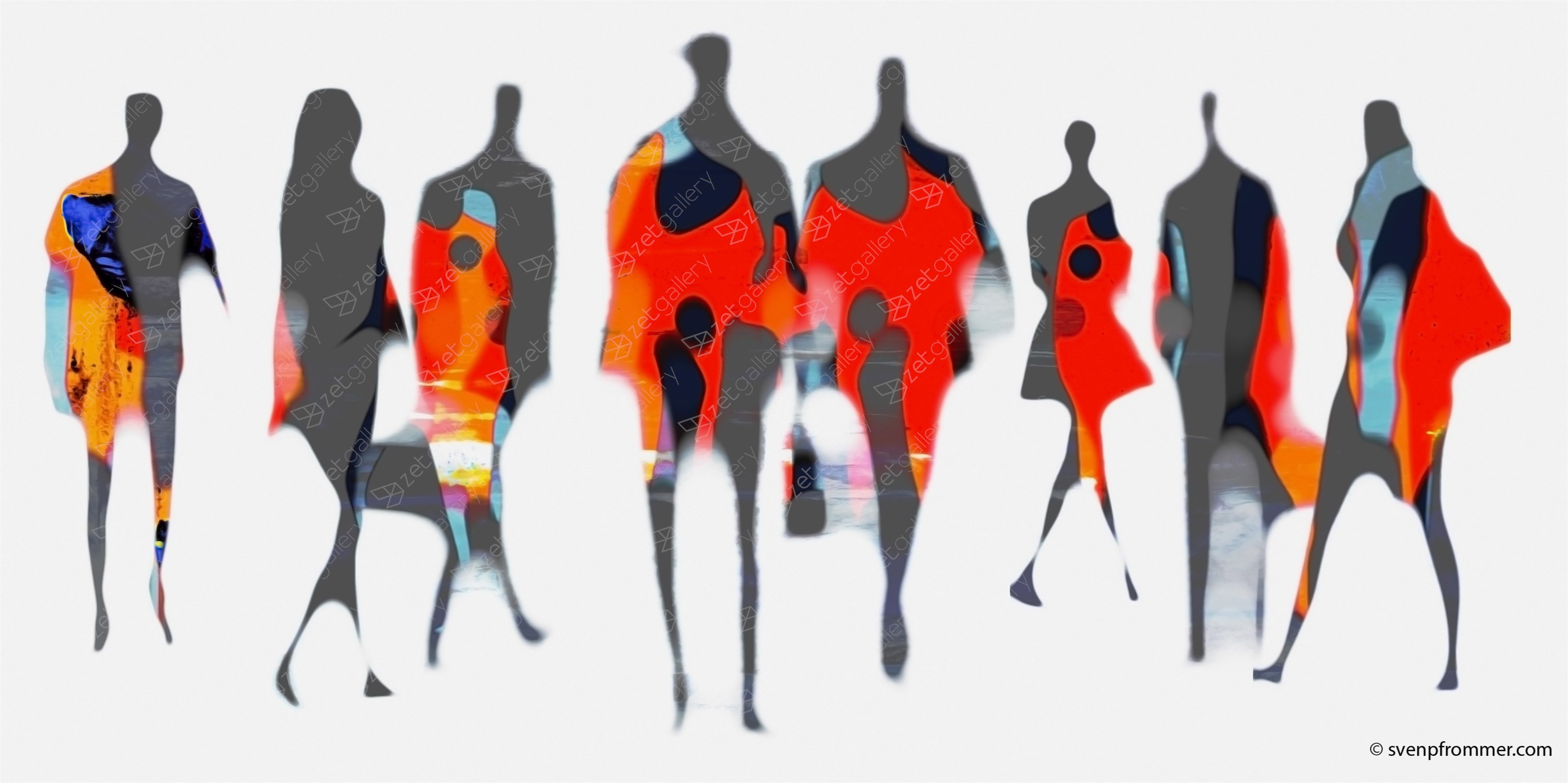 HUMAN FACTOR XX, original Abstract Digital Photography by Sven Pfrommer