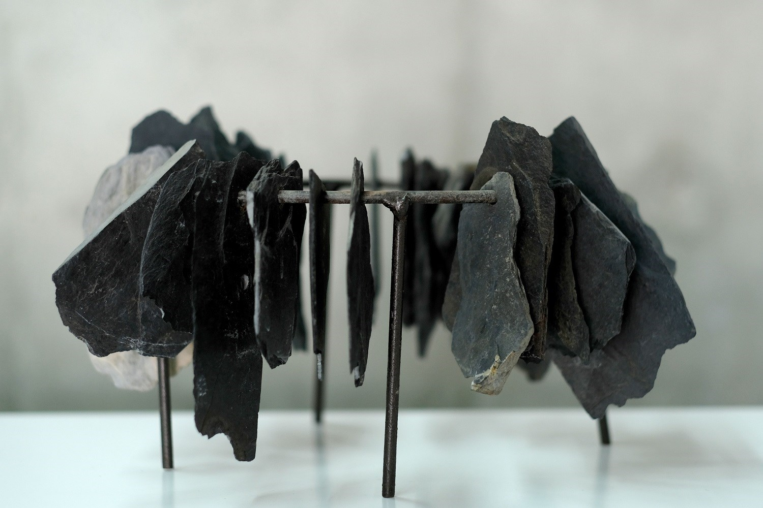 Ecótono 6.2, original Nature Metal Sculpture by Ana Almeida Pinto