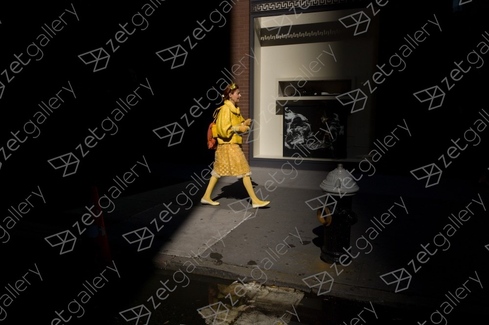 Upper East Side, NYC, original Human Figure Digital Photography by Dimitri Mellos