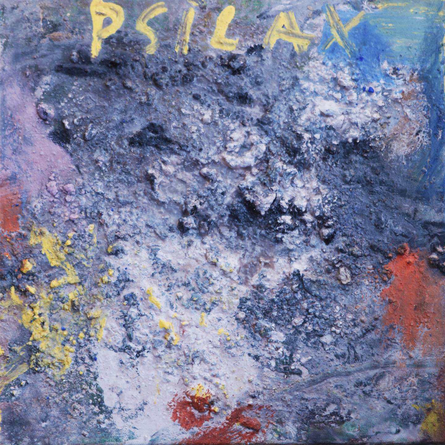 Psilax, original Abstract Canvas Painting by Alexandre Rola