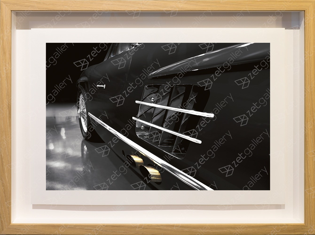 Mercedes-Benz 300SL Gullwing 01, original Avant-Garde Digital Photography by Yggdrasil Art