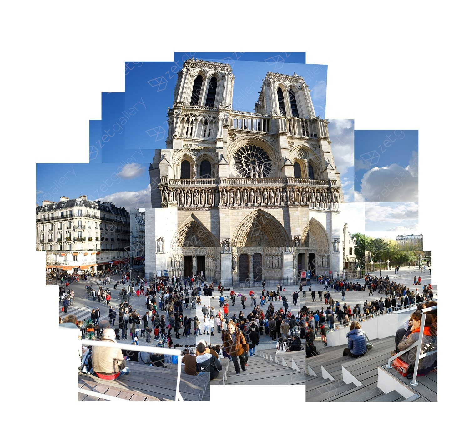 Projeto Panoramas – Paris, original Places  Photography by Daniel Camacho