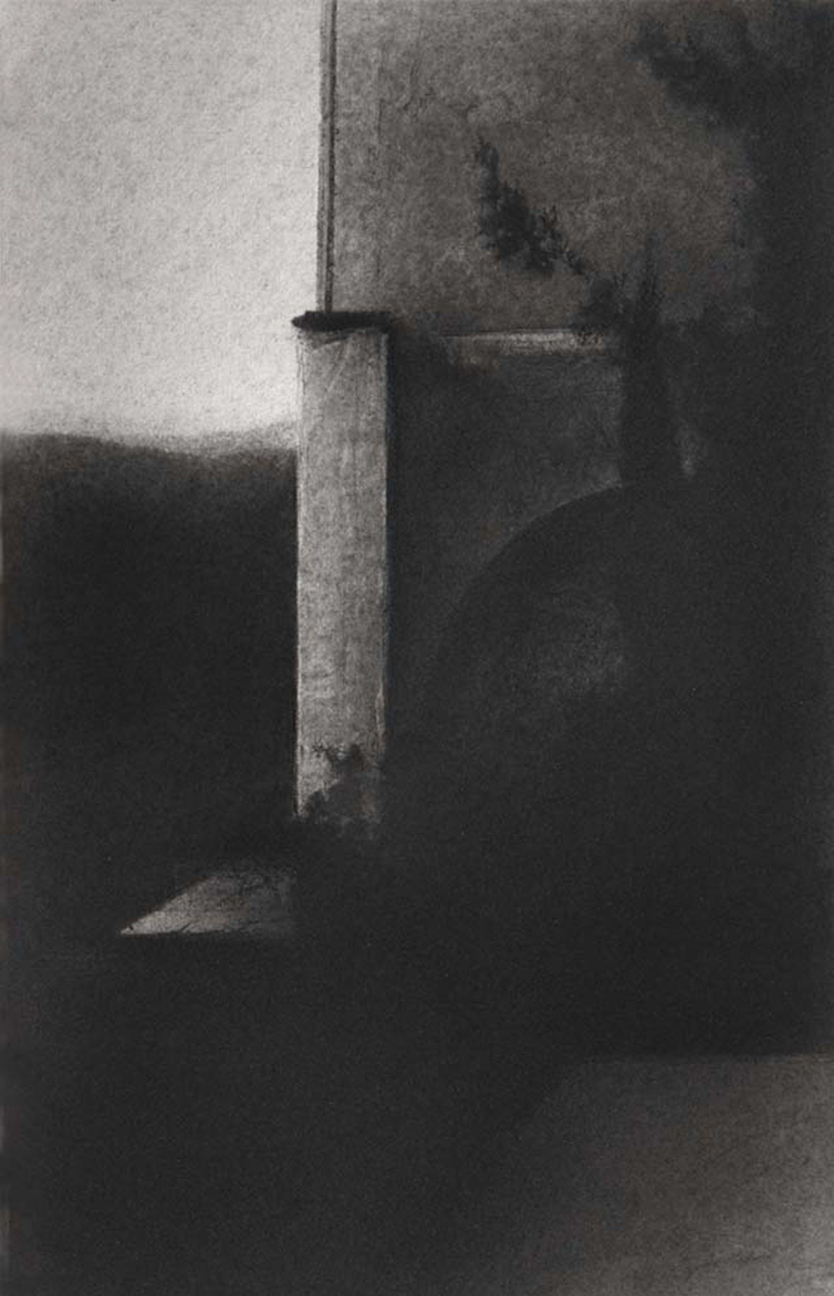 THE HIDDEN TIME III, original Architecture Pencil Drawing and Illustration by José María Díez