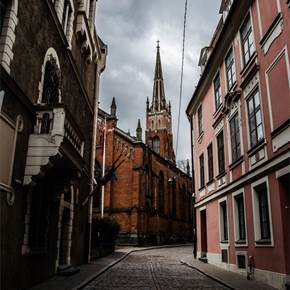 St. James's Cathedral - Riga, Latvia, original Architecture Digital Photography by Afonso Victória
