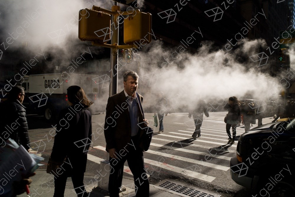 Madison Avenue, New York City, original Human Figure Digital Photography by Dimitri Mellos