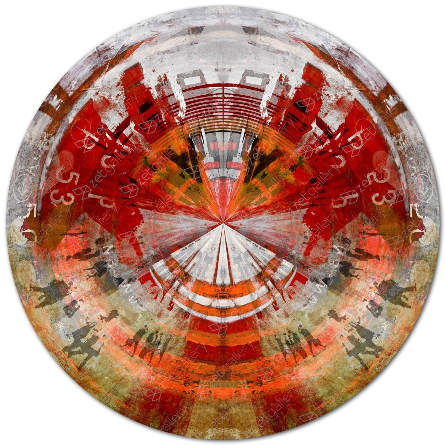 CIRCULAR 60, original Abstract Digital Photography by Sven Pfrommer