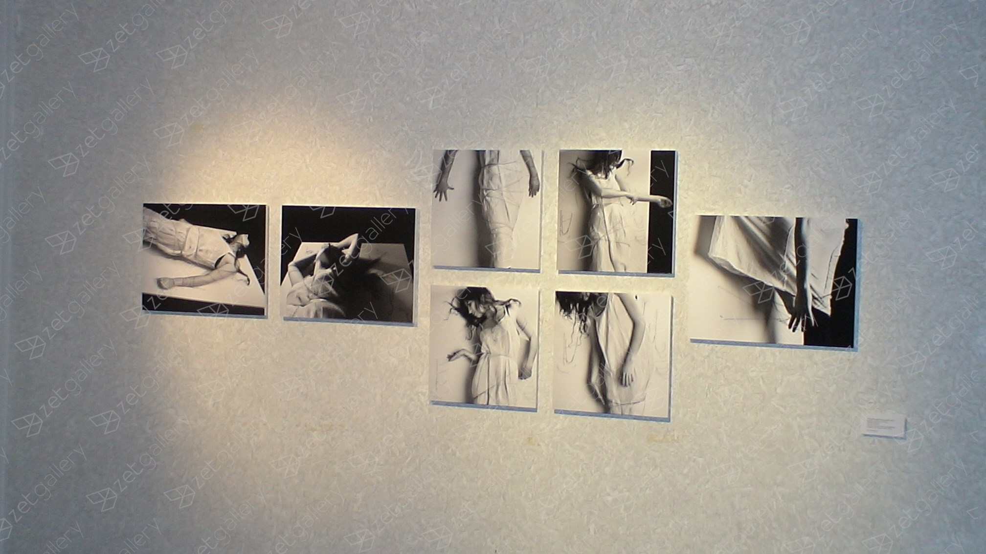 """Pintura?Escultura?Performance?"" #1, original Human Figure Analog Photography by Rebecca Moradalizadeh"
