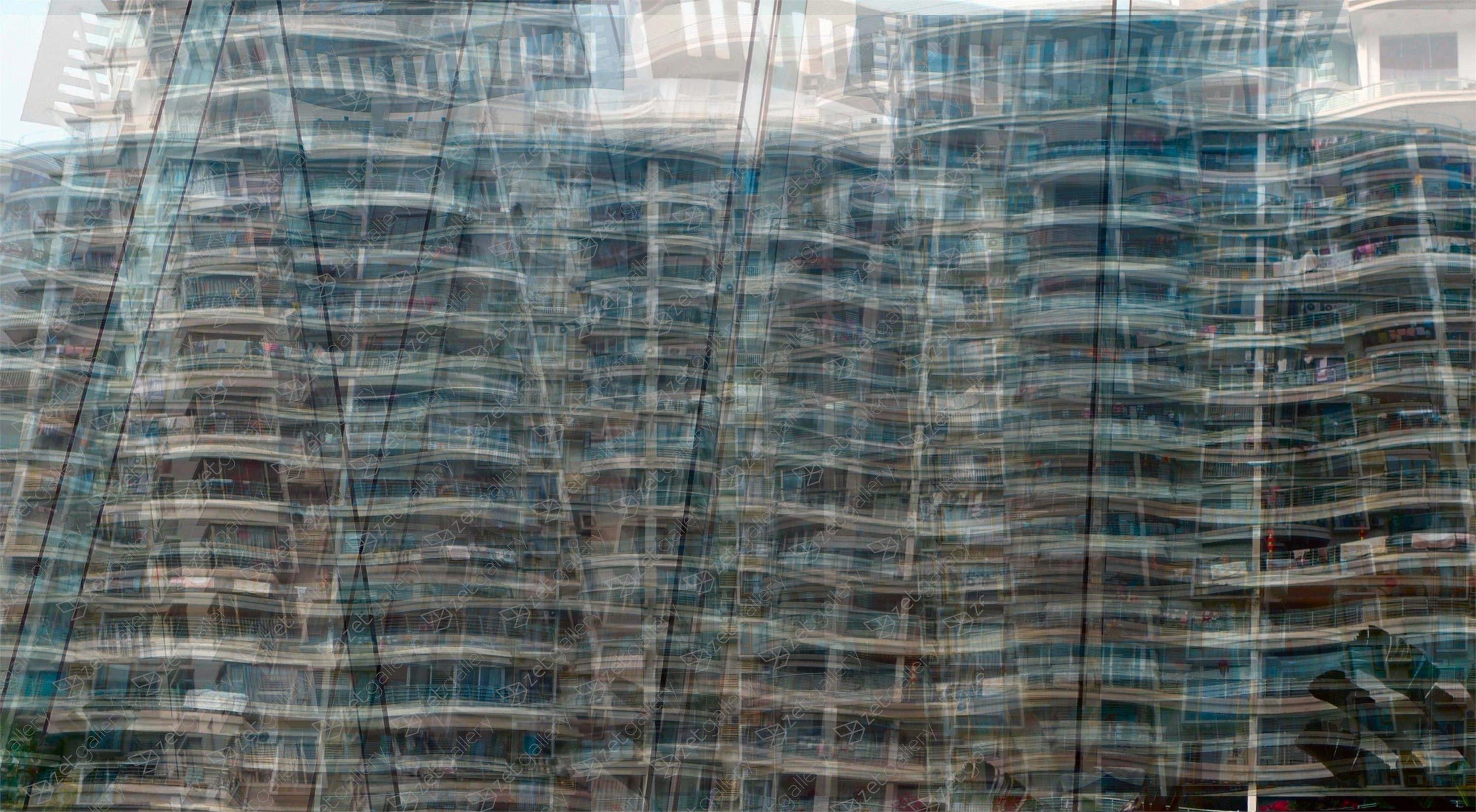 Flats 9, original Architecture Digital Photography by John Brooks