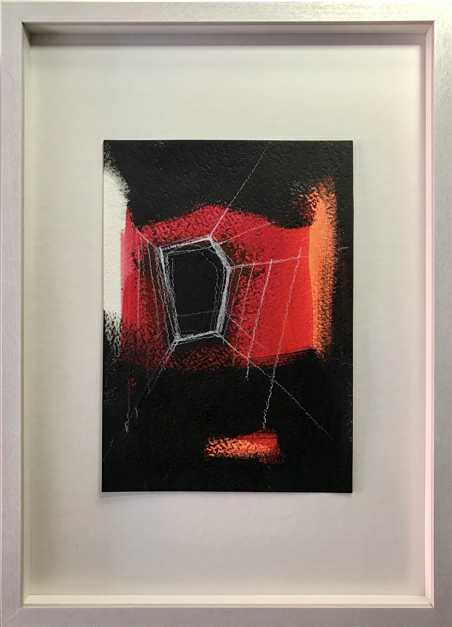 Way Out #3, original Abstract Acrylic Painting by Ana Bonifácio