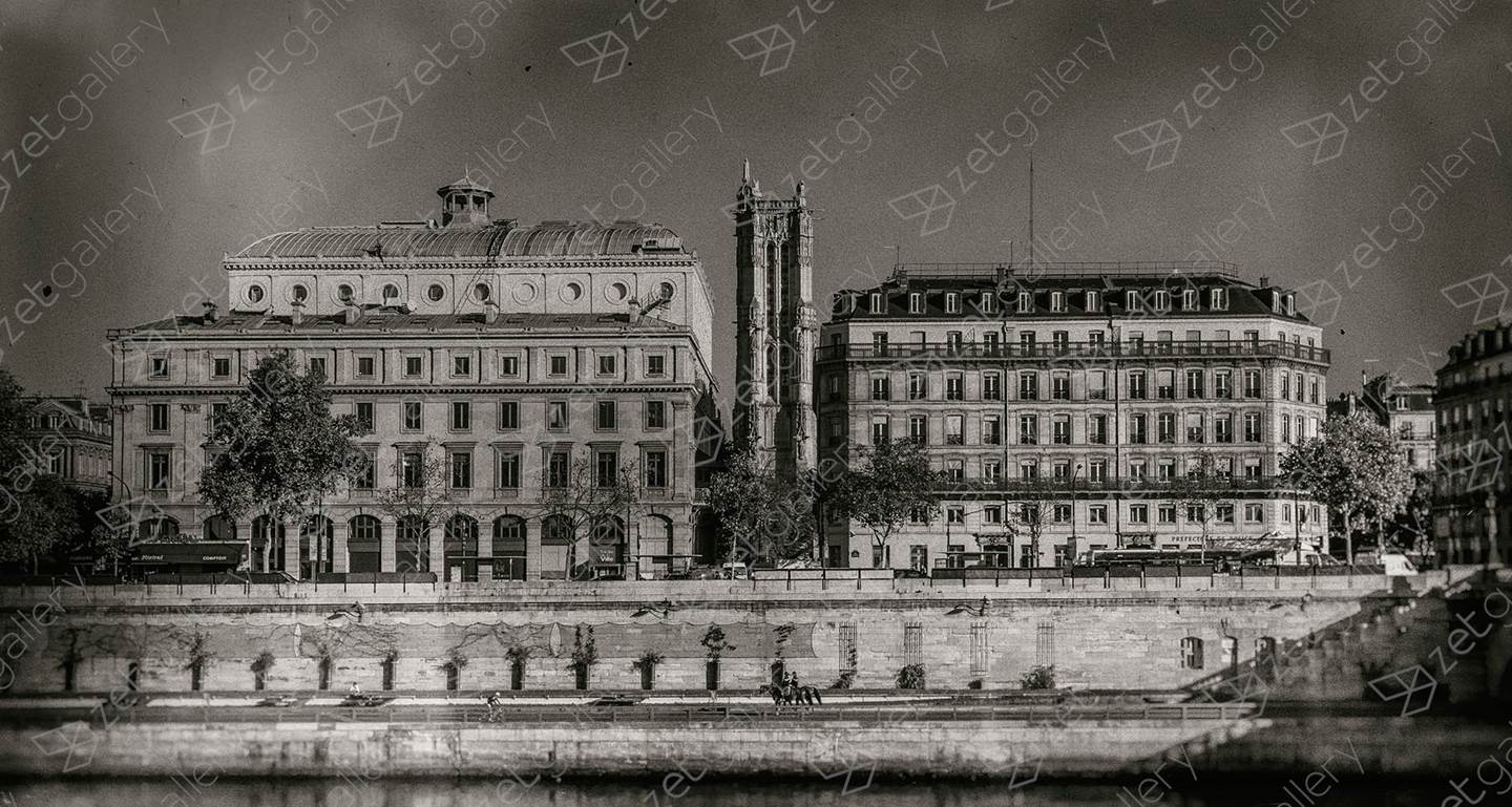 Old Paris #2, original Architecture Digital Photography by Ricardo BR
