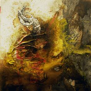 Série 'nervo', original Abstract Canvas Painting by Sara Franco
