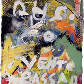 O vento, original Avant-Garde Canvas Painting by Alexandre Rola