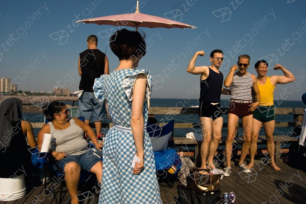 Coney Island, New York City, original Body Digital Photography by Dimitri Mellos