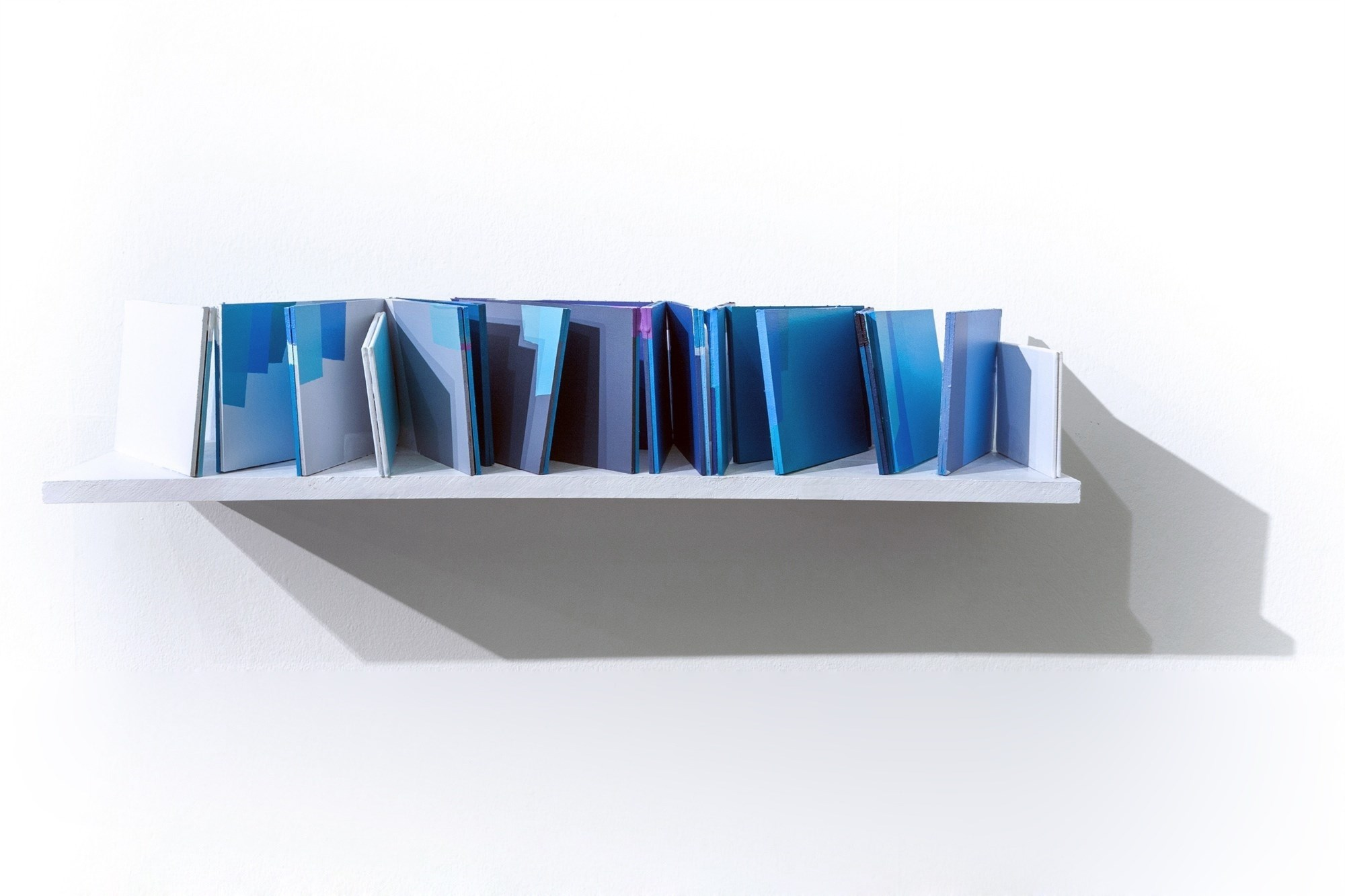 Maquete #6, original Abstract Acrylic Sculpture by Ana Pais Oliveira