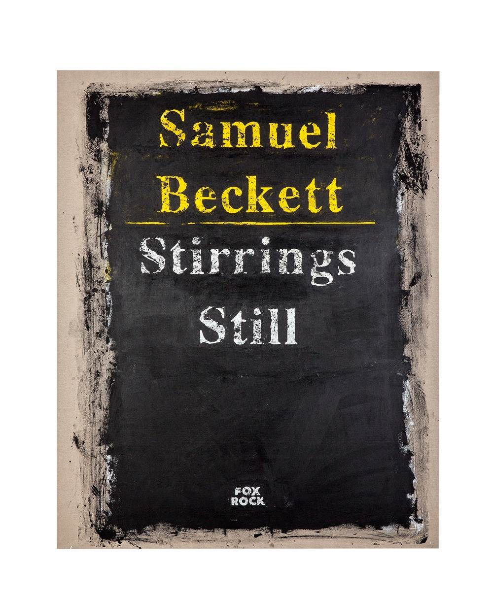 Cover #16 (Samuel Beckett), original Abstract Mixed Technique Painting by João  Louro