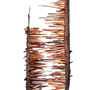 ...Brotam do Tempo, original Abstract Iron Sculpture by Miguel  Neves Oliveira