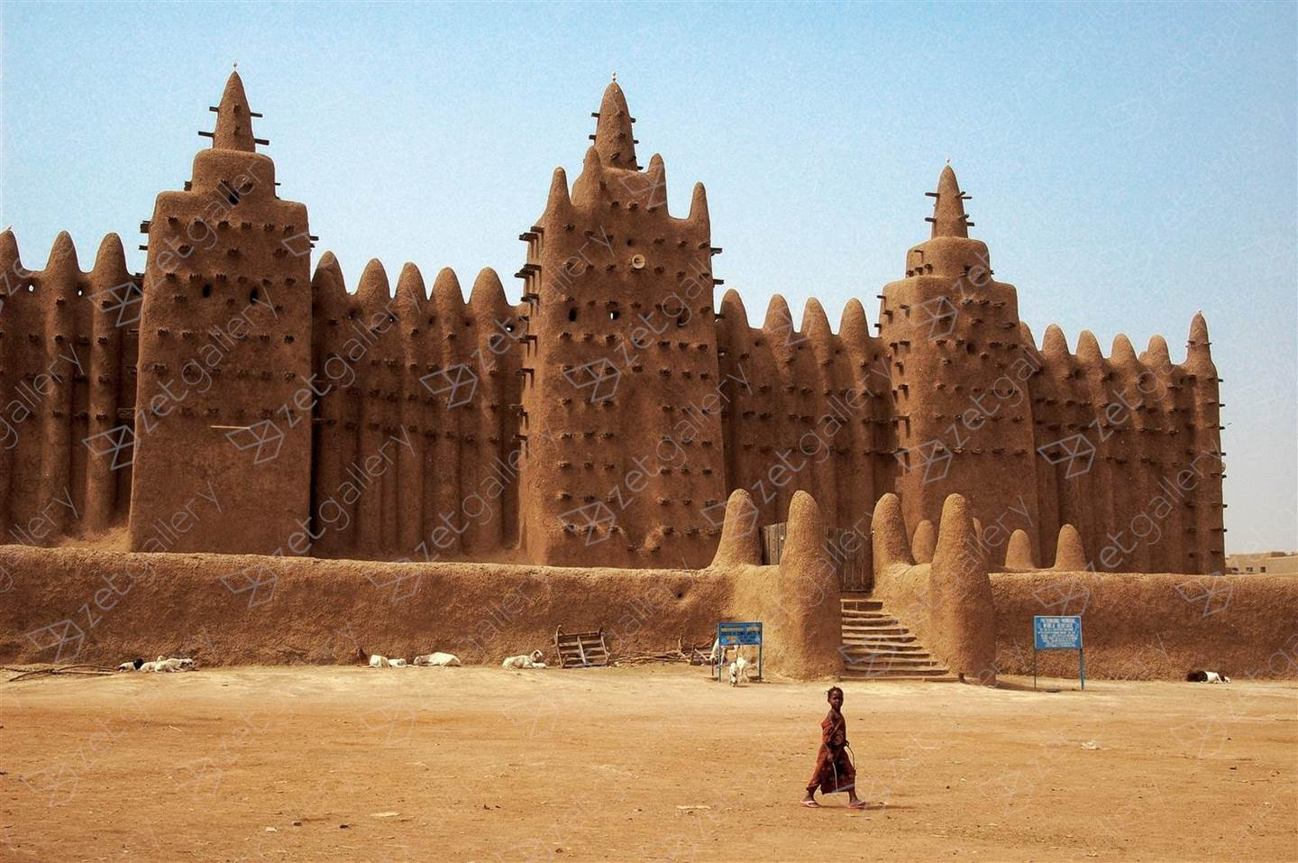 Great Mosque of Djenné, original Architecture Digital Photography by Filipe Bianchi