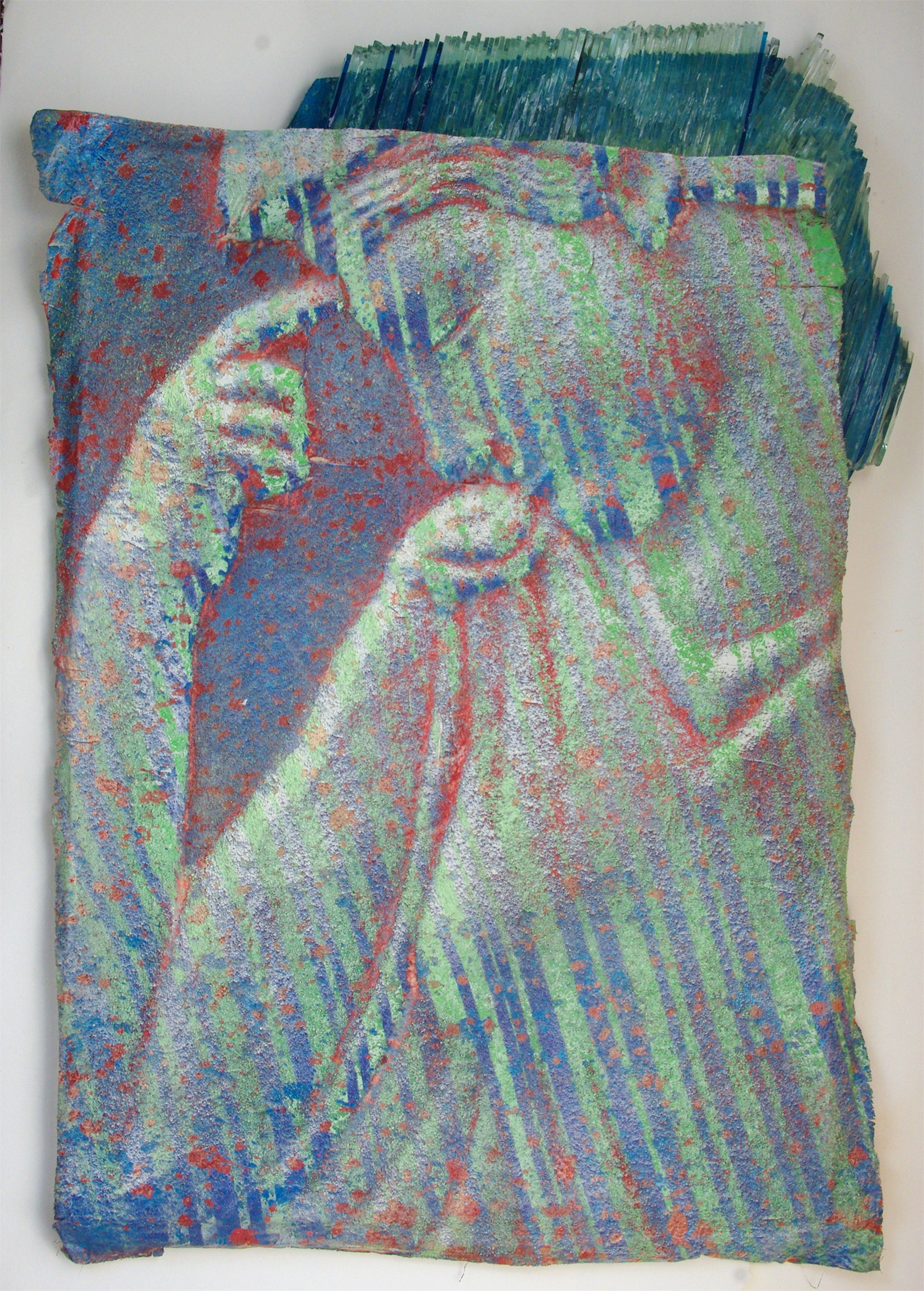 Fragilità, original Human Figure Mixed Technique Painting by Enzo  Mari