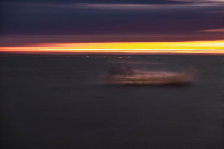STORMY SEA, Large Edition 1 of 5, original Abstract Digital Photography by Benjamin Lurie