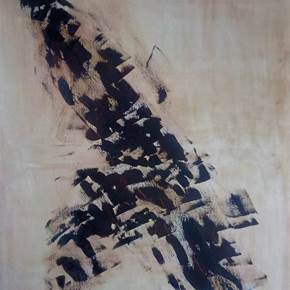 Pássaro, original Abstract Acrylic Painting by Artur Efigénio