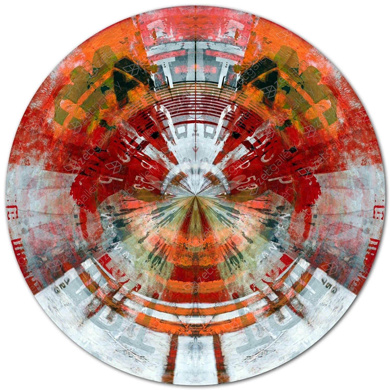 CIRCULAR 66, original Abstract Digital Photography by Sven Pfrommer