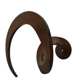 Vento Mareiro, original Abstract Iron Sculpture by Juan Coruxo
