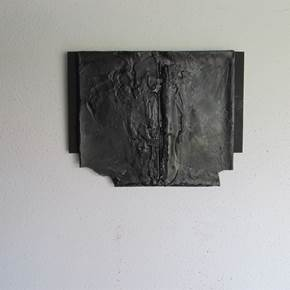 Sem título I (noites nocturnas), original Abstract Mixed Technique Sculpture by Carolina Serrano