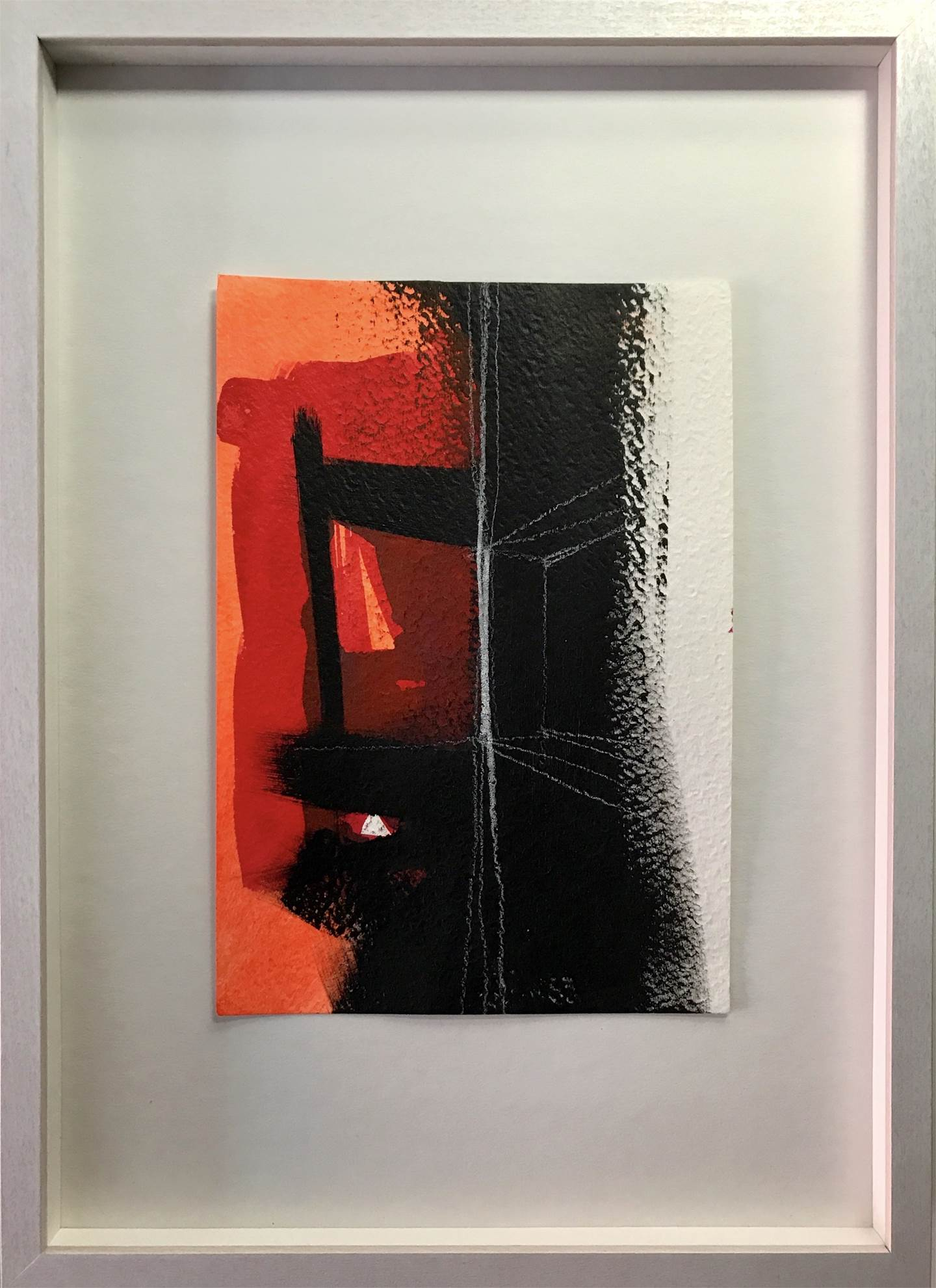Way Out #2 , original Abstract Acrylic Painting by Ana Bonifácio