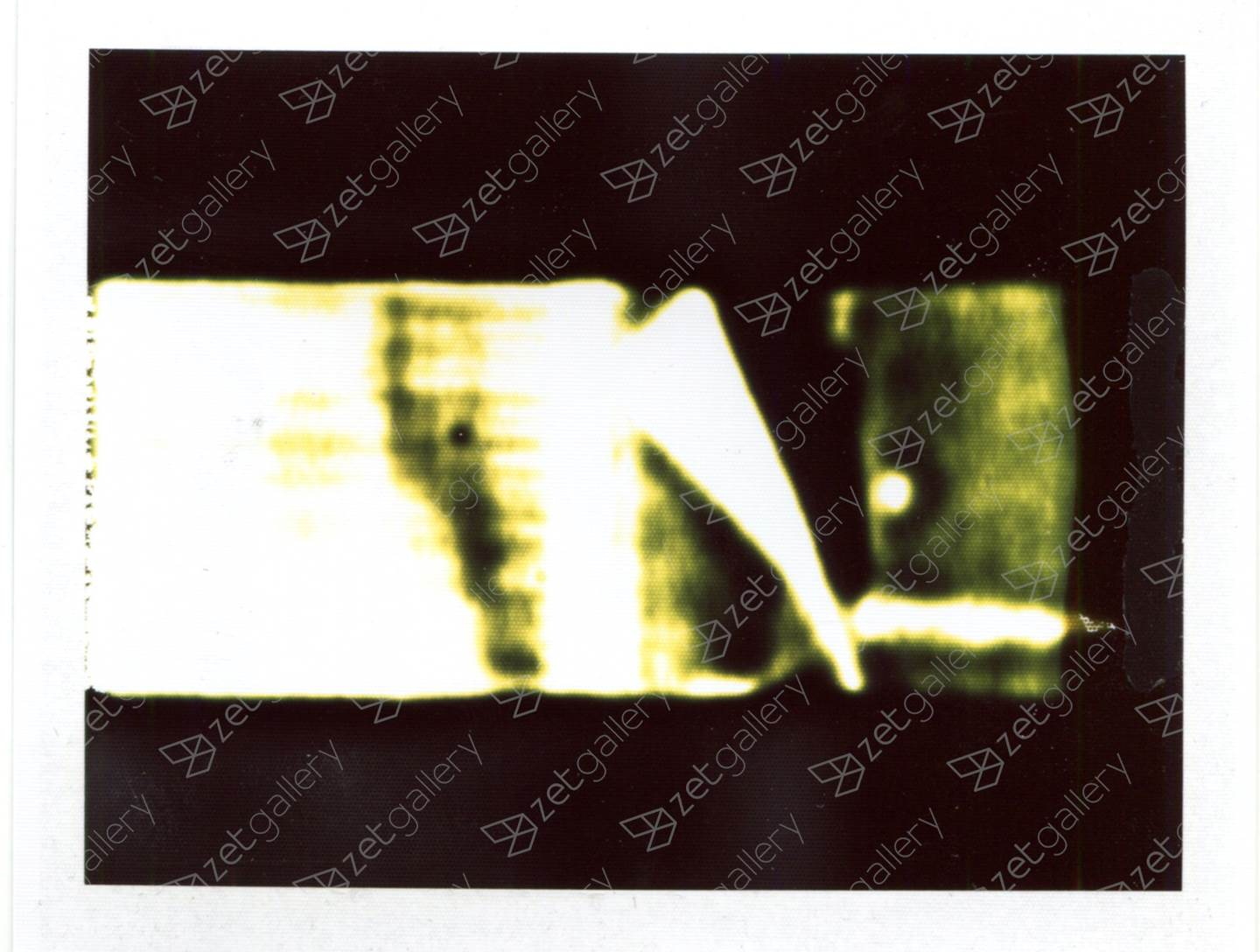 Polaroid Land (2), original Abstract Analog Photography by Yorgos Kapsalakis
