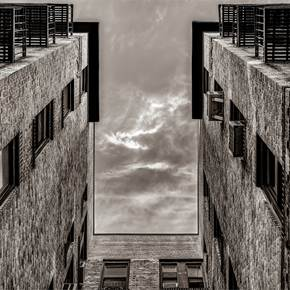 Apartment Building, New York City (2020-2-GNY-68), original Architecture Digital Photography by Vlad Meytin