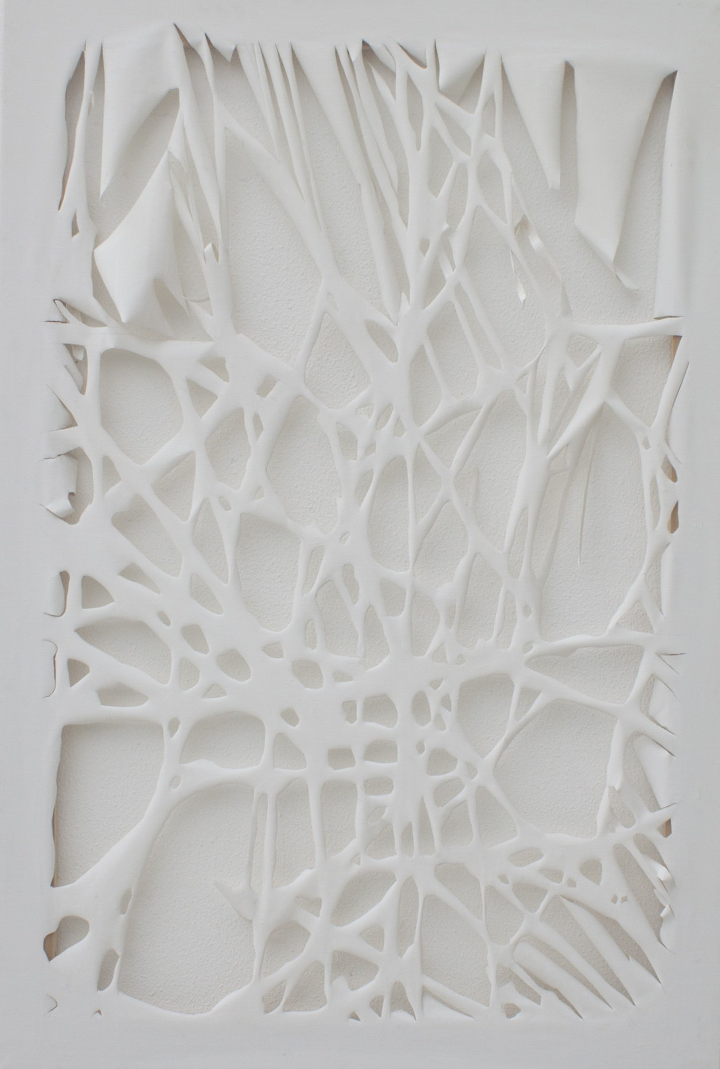 Incisão 1, original Abstract  Sculpture by Marisa  Piló