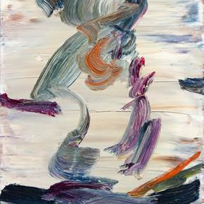 Paint, original Abstract Oil Painting by Leonel Cunha