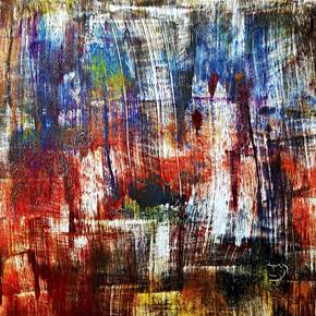 Time to time (n.257), original Abstract Acrylic Painting by Alessio Mazzarulli
