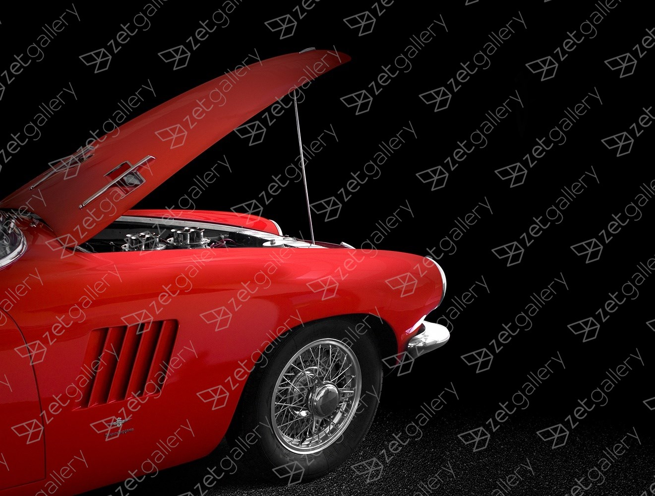 Pegaso Z103 01, original Avant-Garde Digital Photography by Yggdrasil Art